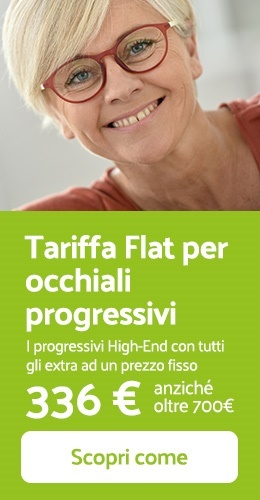 Tariffa Flat con lenti progressive High-End